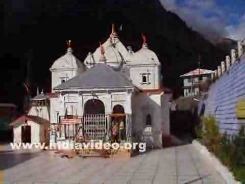 Gangotri Temple in the morning