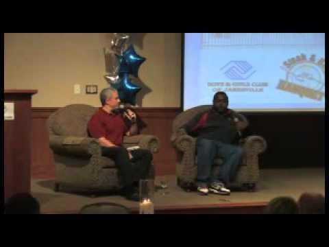 Ron Dayne and Matt Lepay at Pontiac Convention Center pt 1of3