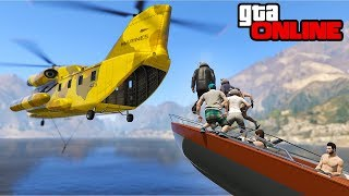 30 PLAYER STUNTS, EPIC STUFFS & BUSTED! || GTA 5 Online || PC (Funny Moments)