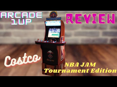Costco Arcade 1up NBA Jam Tournament Edition Review from HappyFunnyGaming