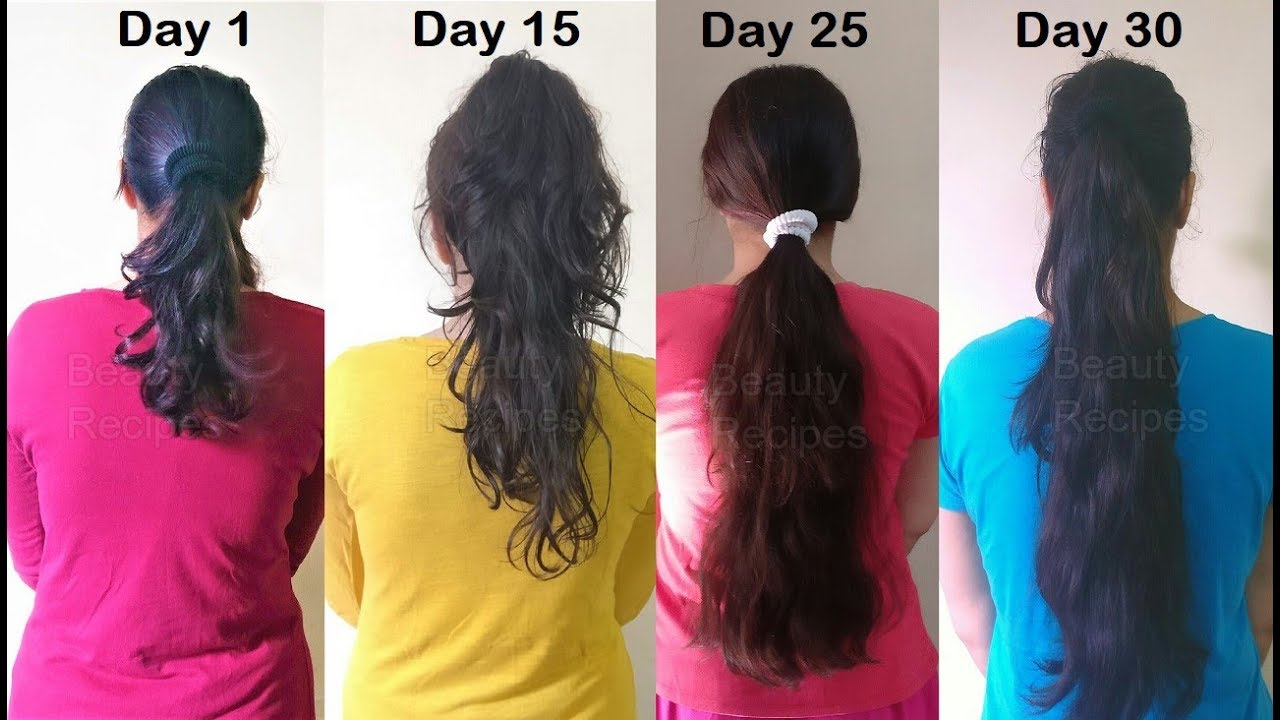 How to make your hair grow longer faster diy ways