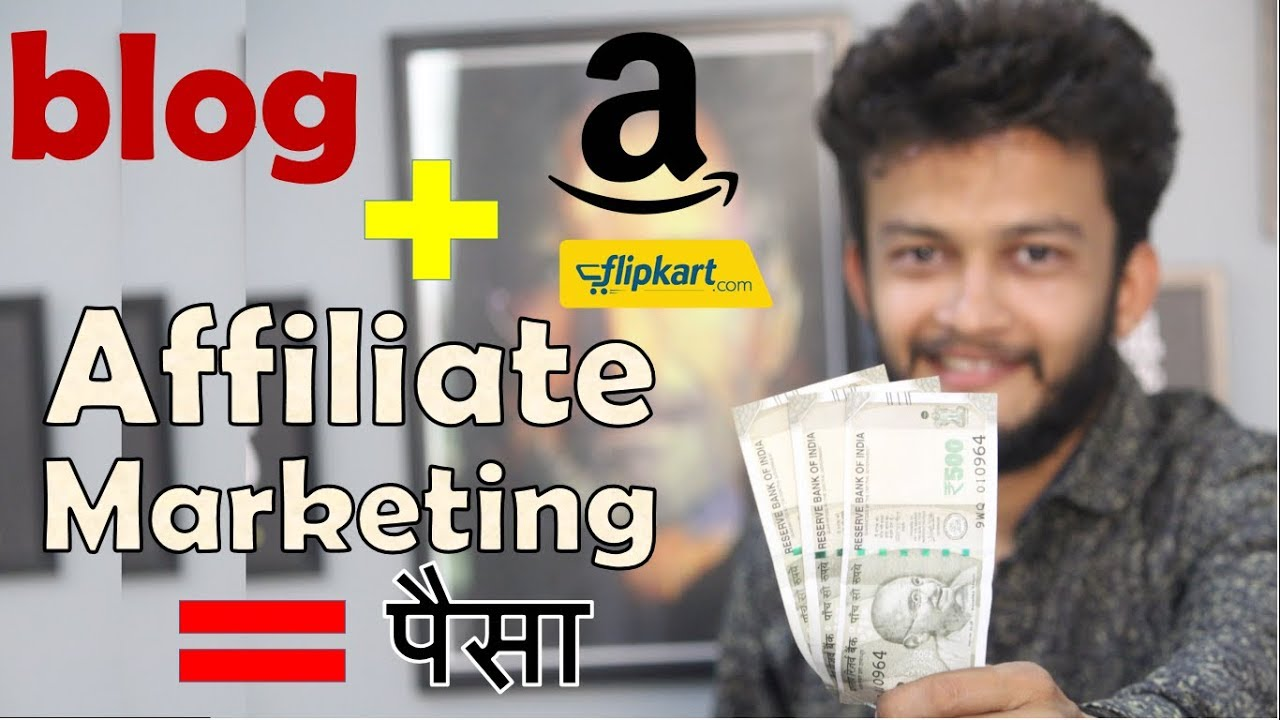 {HINDI} How to Start Affiliate Marketing on Your Blog || easiest way to earn money from home