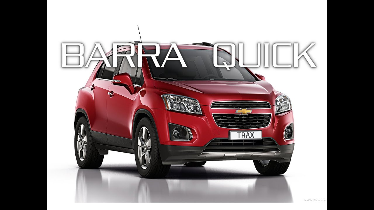 Barre Green Valley QUICK - Chevrolet Trax - YouTube