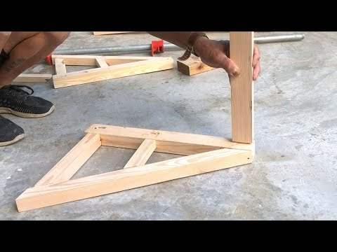 amazing-woodworking-projects-ideas-from-palles-//-how-to-build-a-diy-ladder-chair---diy,-how-to