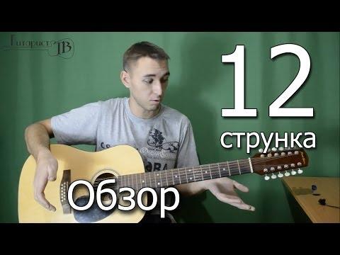 Как играть на 12 струнной гитаре видео уроки для начинающих