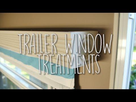 Travel Trailer Remodel, Part 14: Window Treatments