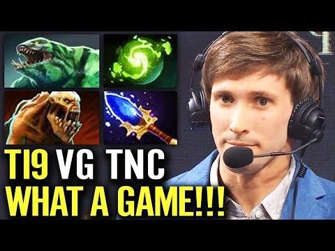 TI9 WHAT A GAME - VG vs TNC Highlights TI9 The International 2019