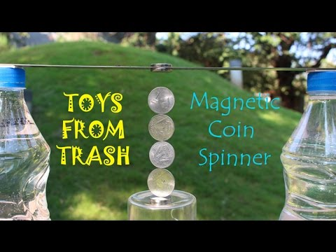 Magnetic Coin Spinner | English