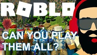 Top 10 Popular Roblox Games