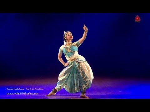 Rama Natakam by Harinie Jeevitha  part 1 - Sridevi Nrithyalaya - Bharatanatyam Dance