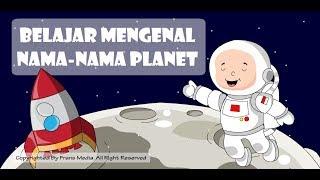 Media Pembelajaran   Belajar Mengenal Nama-Nama Planet