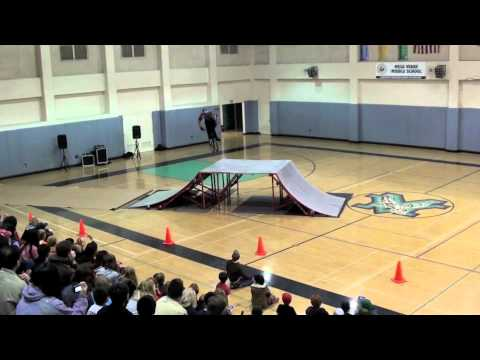 BMX Freestyle Bike Tricks - Middle School Exhibition