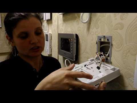 Купить видеодомофоны для квартиры и дома видеодомофон