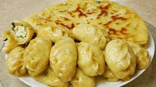 Два блюда из одних и тех же ингредиентов, цыганка готовит.Gipsy cuisine.