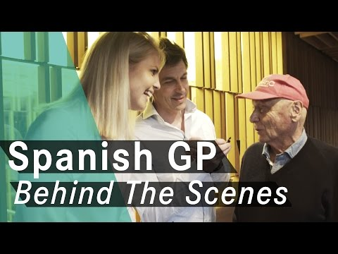 Spanish GP Quali debrief + Dinner with Toto Wolff & Niki Lauda!