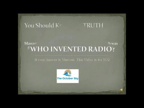 Who Invented Radio