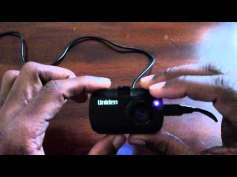 Uniden CAM250 Full HD Dash Cam Overview