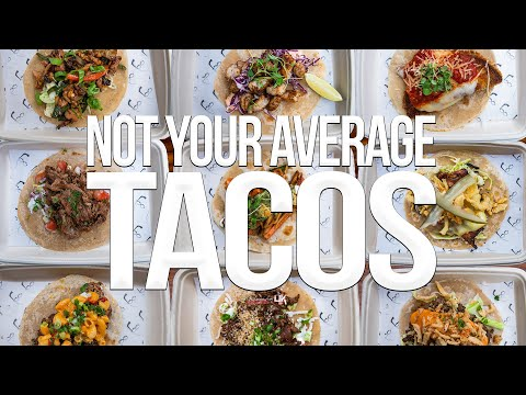 Tacos Like You've Never Seen Before | SAM THE COOKING GUY 4K