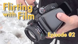 Flirting with Film #2:  Medium Format - Snow in Central Park