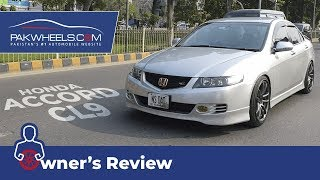 Honda Accord CL9 2006 Owner's Review: Price, Specs & Features | PakWheels