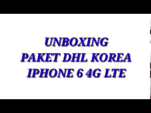 Unboxing Iphone 6 32GB 4G LTE