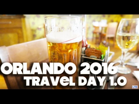 ORLANDO & FLORIDA VLOG | TRAVEL DAY – PART 1 – 2016