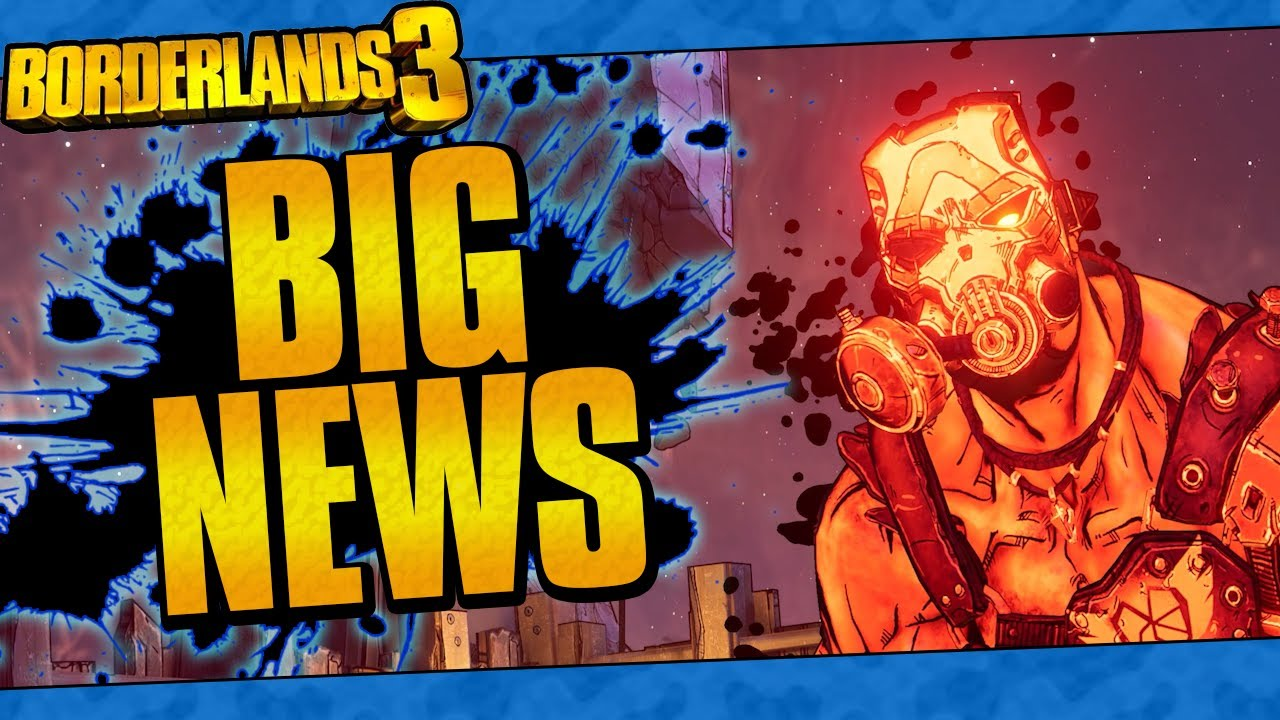 Borderlands 3 | Huge News! (Krieg DLC Reveal, Maya Returns, Level Cap Increase, And More!) thumbnail