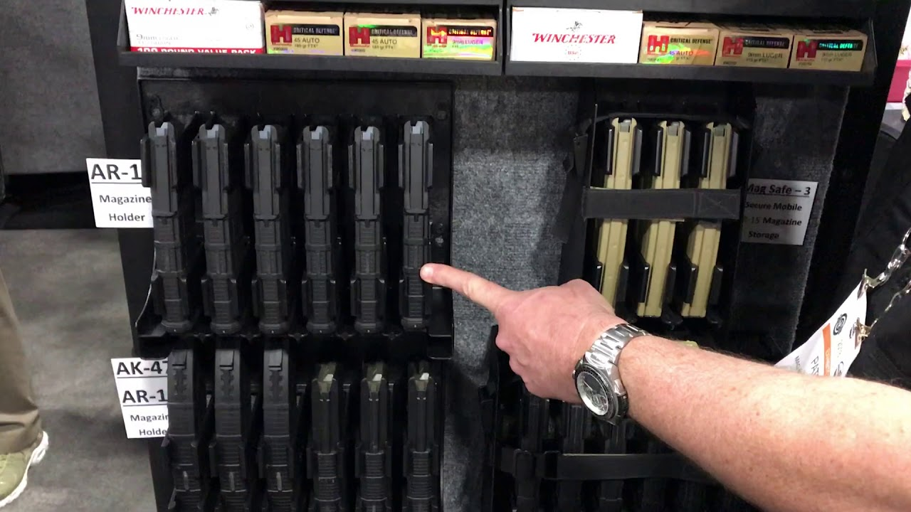 Mag Storage Solutions   SHOT Show 2018