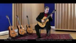 Bruno Giuffredi plays guitars made by Pietro Gallinotti (DVD + CD)  (Manuel Maria Ponce: Prelude)