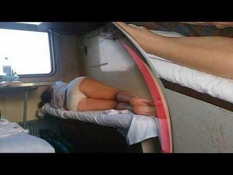 Как спят в плацкартном вагоне! Смешно до слез!
