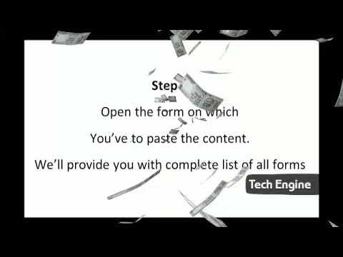 Simple Online job - copy paste job