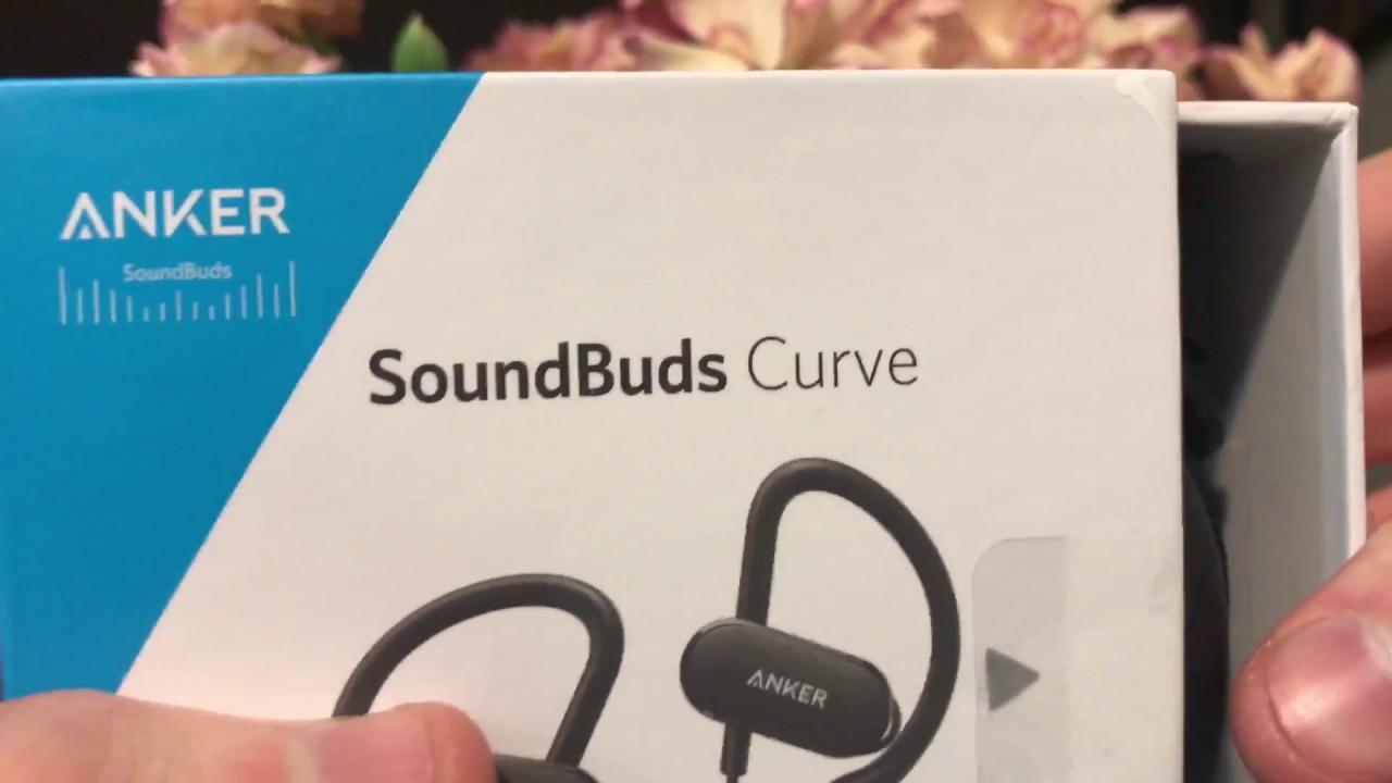 Anker SoundBuds Curve Unboxing