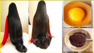 Как быстрее вырастить блестящие и шелковистые волосы с яйцом и кофе Задача сверхбыстрого роста во