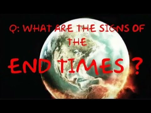 Rapture Talk Q&A- What are the SIGNS of the END TIMES? Part 1