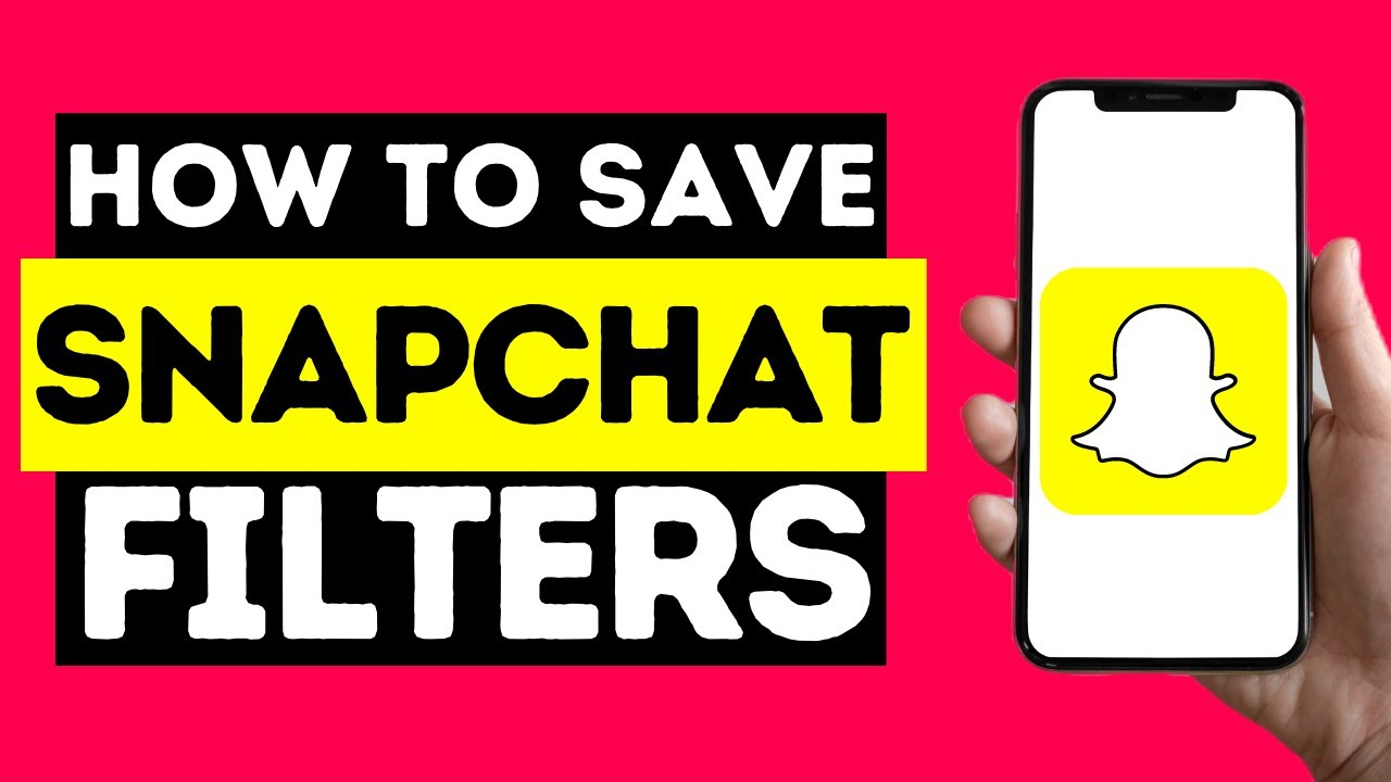 How To Save Favourite Snapchat Filters (2021)