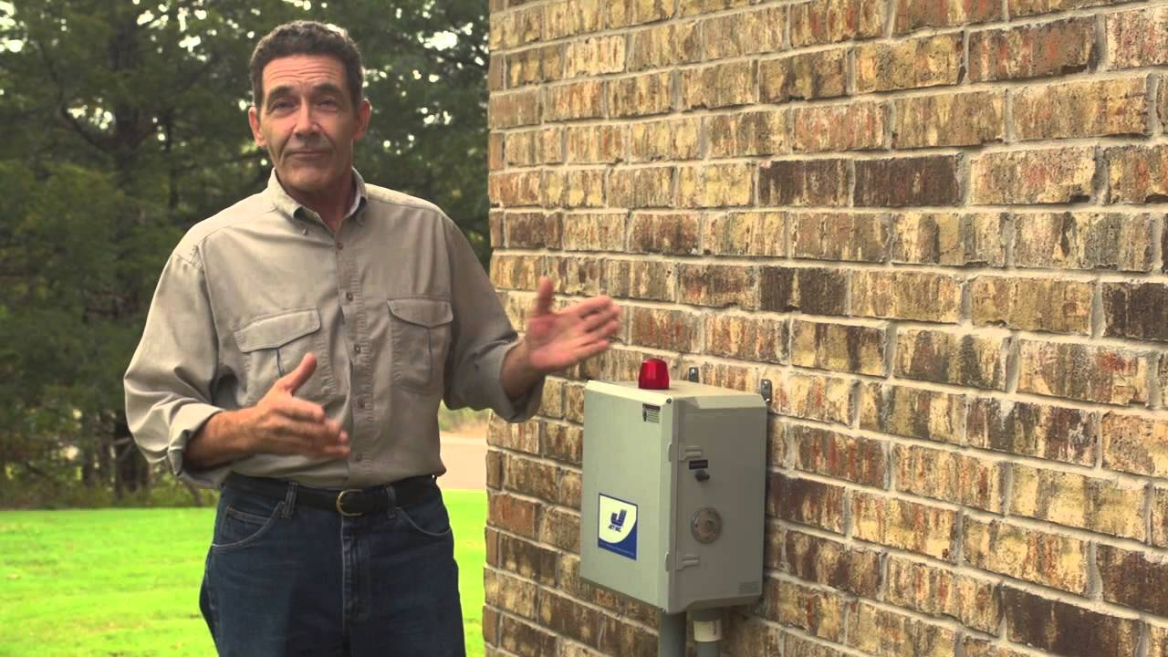 Septic Tank Control Box Youtube