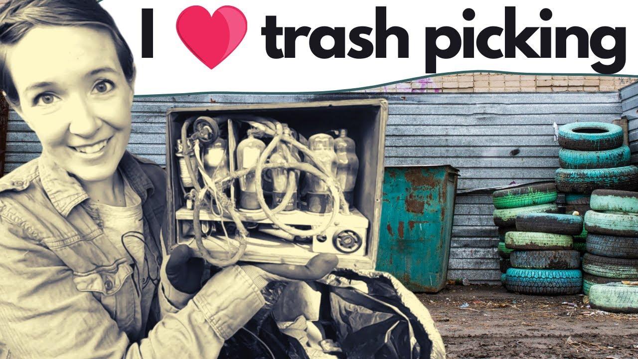 JUST THROW IT AWAY! Garbage Picking Bag Day