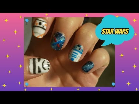 Diy Star Wars Nail Art Tutorial