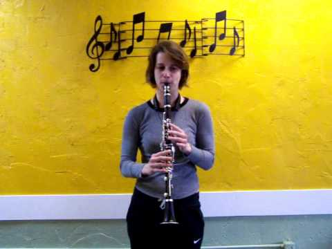Here is what a clarinet sounds like