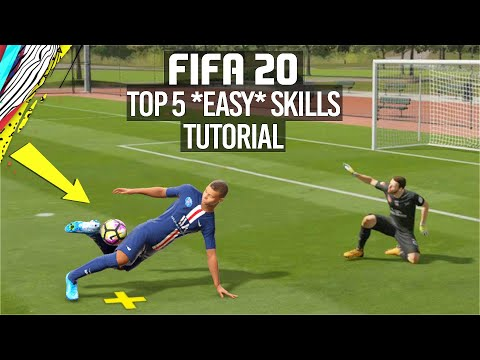 FIFA 20 TOP 5 EASY SKILL MOVES TUTORIAL [PS4/XBOX ONE]