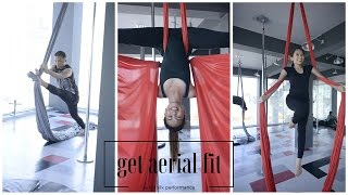 Aerial Silk Performance || Busyqueenphils Vlog