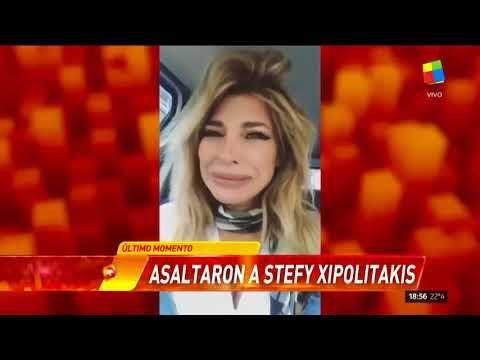 La angustia de Stefy Xipolitakis tras ser asaltada: Estoy muy asustada