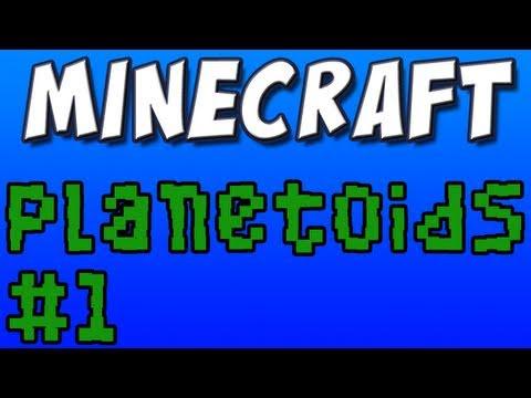 Minecraft - Planetoids, Part 1 - Firey Balls!