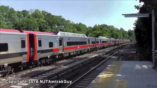Metro-North Railroad trains at Williams Bridge railfanning part 1