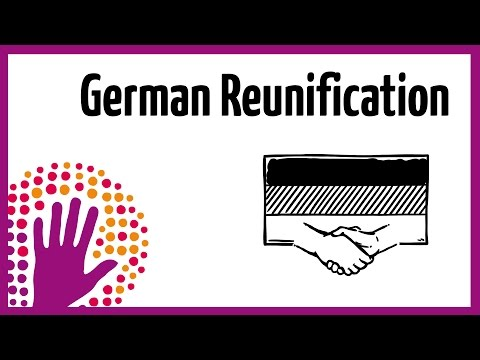 German Reunification in a nutshell
