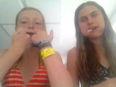 Chubby bunny Challenge Ft. Signe