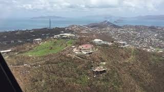 9/10/17 Aerial Footage St Thomas USVI Airport to Smith Bay After Hurricane Irma