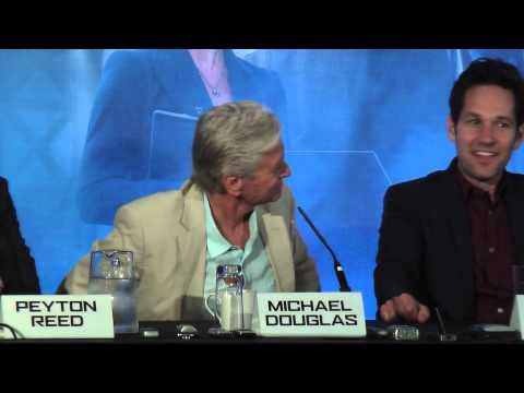 Press Conference: Peyton Reed, Michael Douglas, Paul Rudd, Michael Peña | Ant-Man (The Fan Carpet)