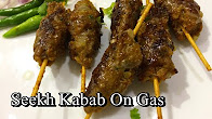 Mutton Seekh Kabab On Pan Without Tandoor/Oven - No BBQ - Eid Special