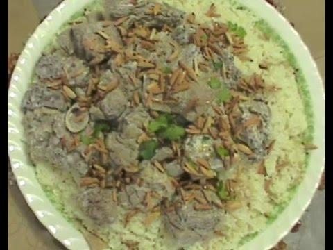 MANSAF (TRADITIONAL LAMB YOGURT RICE DISH)